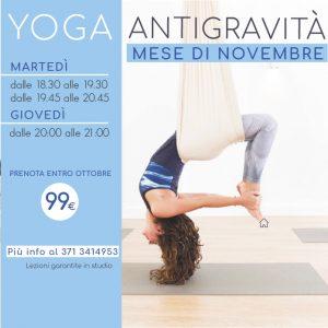 Novembre di yoga antigravità